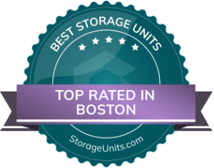 Boston Best Storage Units Badge